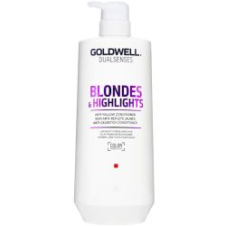 Goldwell Dualsenses Blonde and Highlights Anti Yellow Conditioner 1000ml