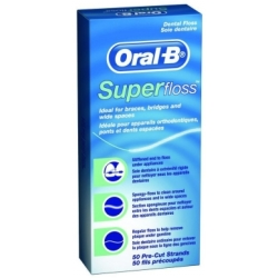 Oral B Super Floss 50 stk