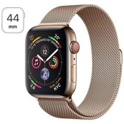 Apple Watch Series 4 LTE MTX52FD A Rustfrit Stål Milanorem 44mm