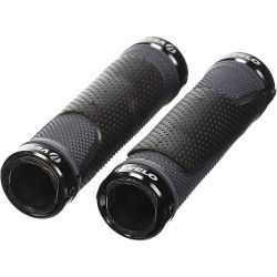 Velo D3 Lock On Grips Black Pair Black