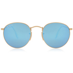 Ray Ban RB3447 Round Flash Lenses Polarized Solbriller