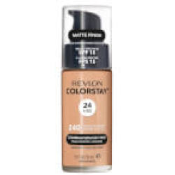 Revlon ColorStay Make Up Foundation for Combination Oily Skin (Various Shades) Medium Beige