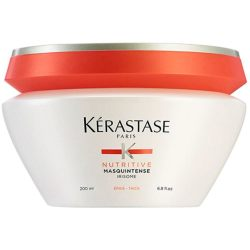 Kérastase Nutritive Bain Satin 2 250ml Nutritive Lait Vital 200ml Masquintense Cheveux Epais (For Thick Hair) 200ml