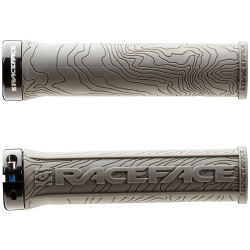 Race Face Half Nelson Lock On Grips Grey 134mm Grey