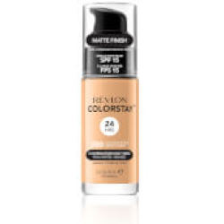 Revlon ColorStay Make Up Foundation for Combination Oily Skin (Various Shades) Golden Beige
