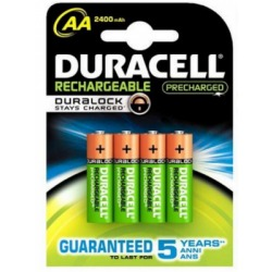 Duracell AA Recharge Ultra 4 stk