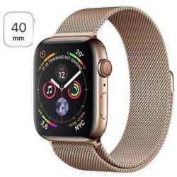 Apple Watch Series 4 LTE MTVQ2FD A Rustfrit Stål Milanorem 40mm
