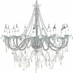 vidaXL Chandelier Maria Theresa 12 arm