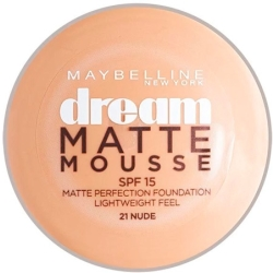 Maybelline Dream Matte Mousse Foundation Nude