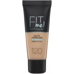 Maybelline Fit Me Matte amp Poreless Foundation 120 Classic Ivory 30 ml