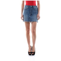 LEVIS 34963 DECONSTRUCTED SKIRT SKIRT Women DENIM LIGHT BLUE